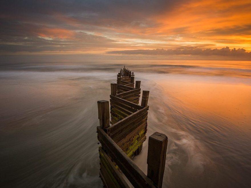 Groyne Walcott, Norfolk Landscape Photography