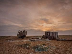 boat Dungeness, Kent. Landscape Photography