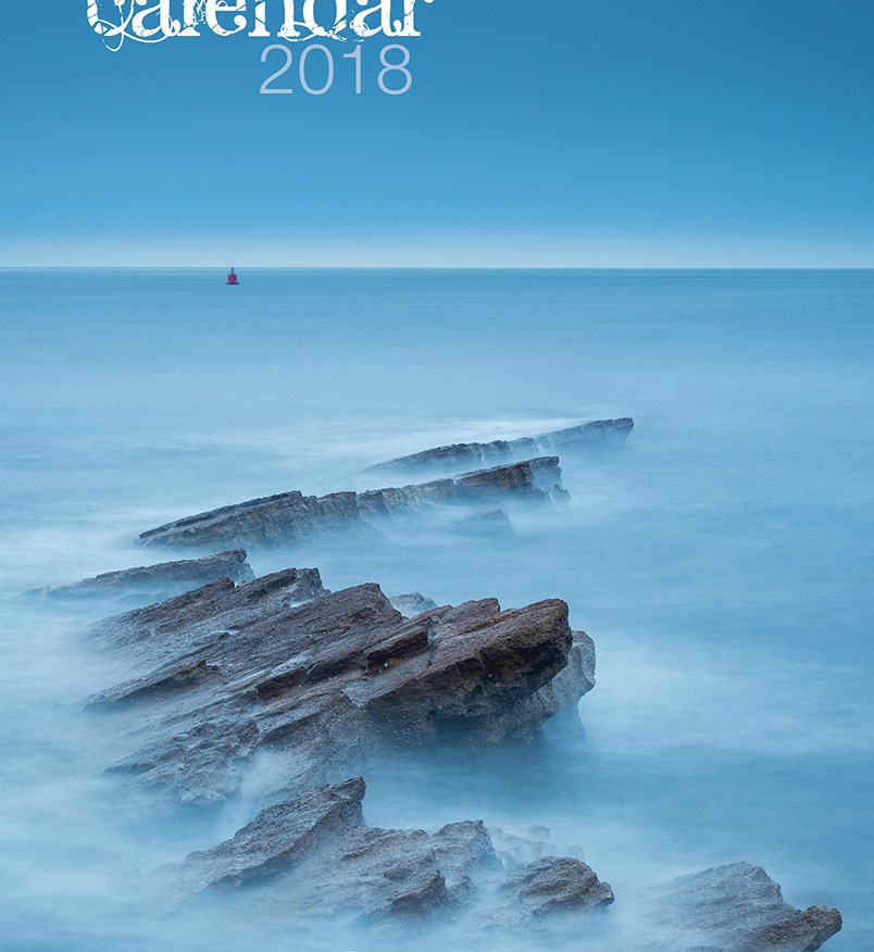 Damian Ward Photography Calendar 2018 Cover