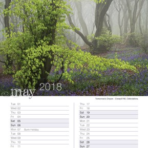 Damian Ward Photography Calendar 2018 May