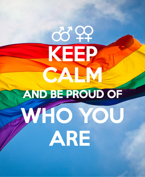 Keep Calm National Coming Out Day
