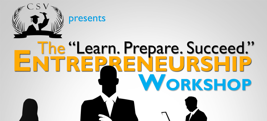 Signup now for Free to Learn.Prepare.Succeed Entrepreneurship Workshop
