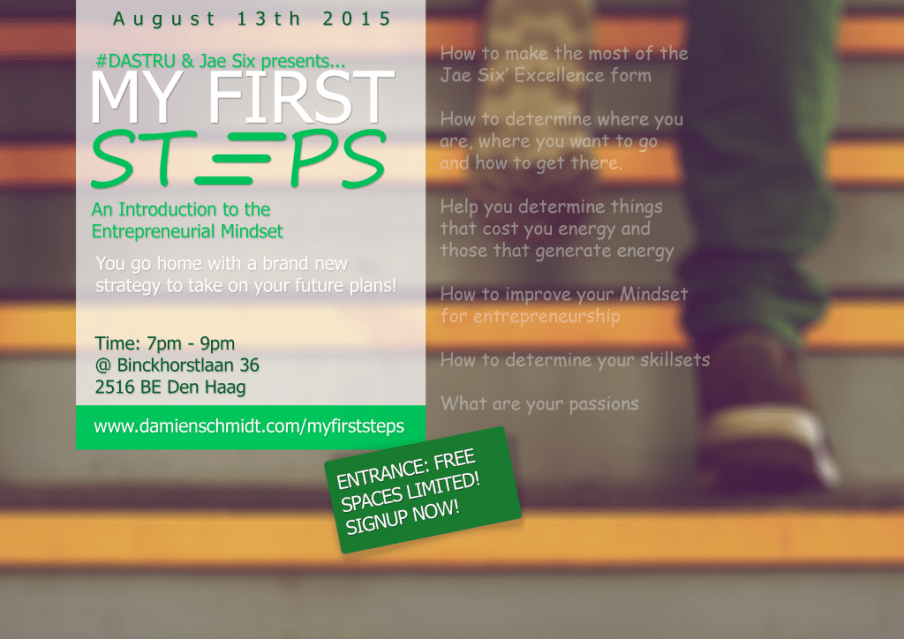 my first steps workshop