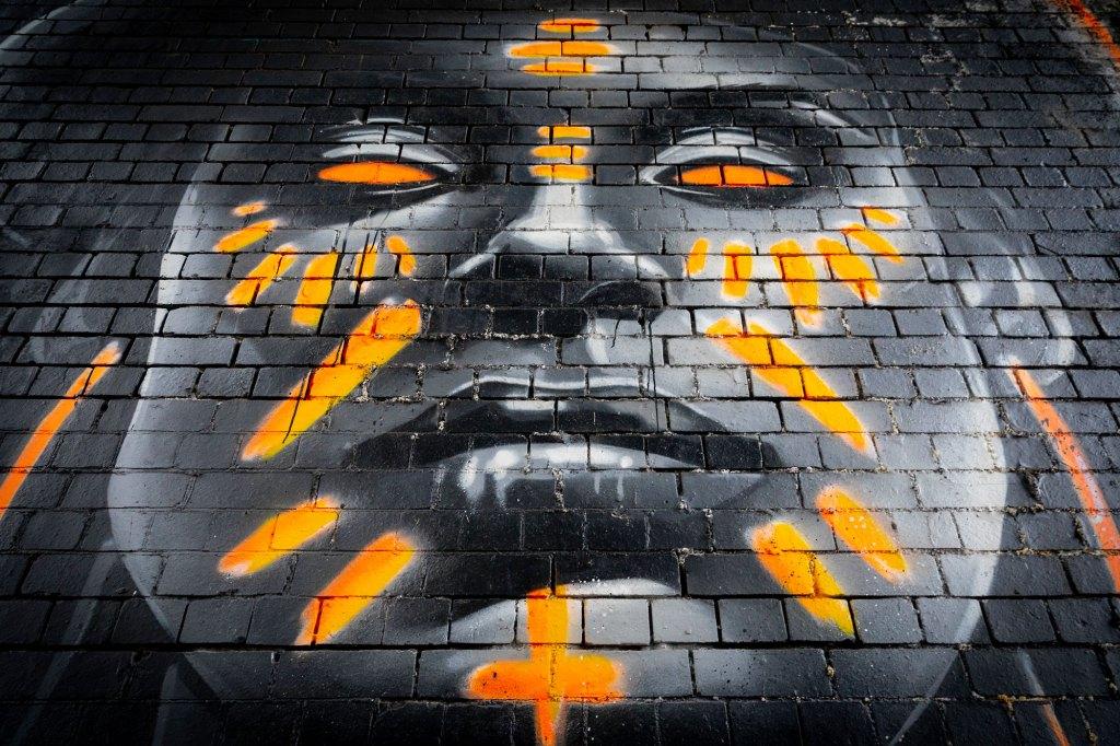 Street art Justin Sola