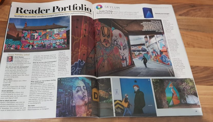 Amateur Photographer article, pic by Tammie Naughton