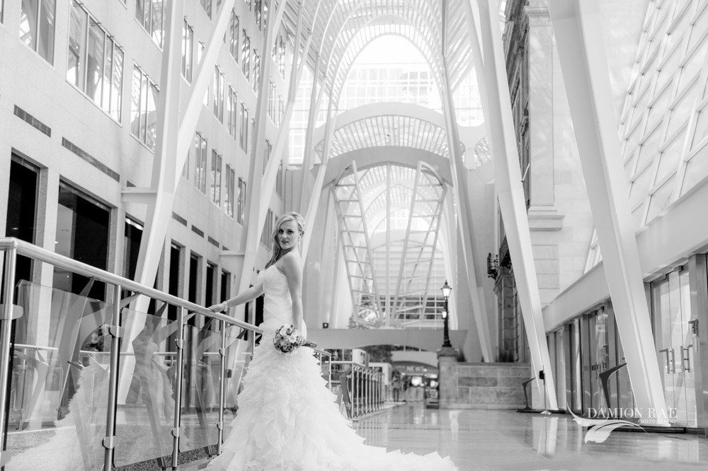 Ashley & Duke: Bridal Fashion Shoot at Queen Margherita Pizza Toronto Ontario Canada Wedding Photographer