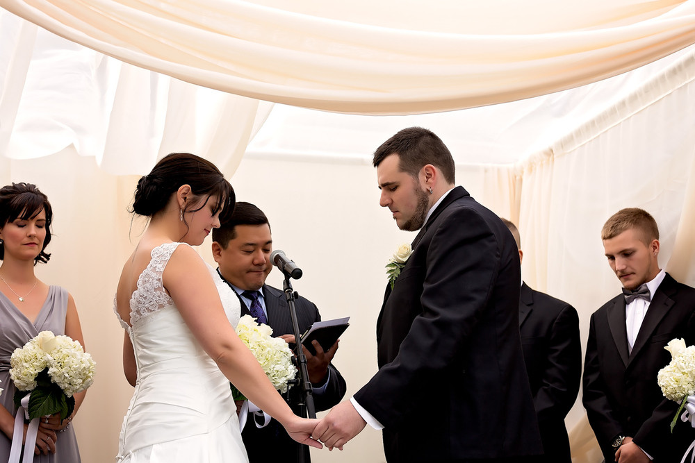 wedding party wedding ceremony Otellos Centre Oakville Wedding toronto wedding photographer