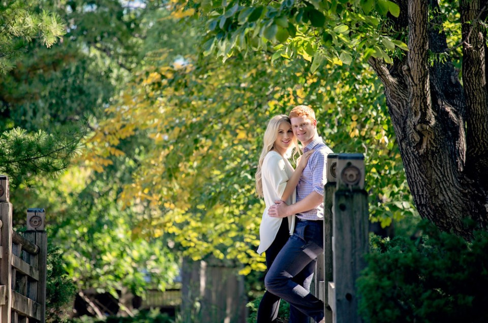 Janine and Richard: Kariya Park, Mississauaga Engagement