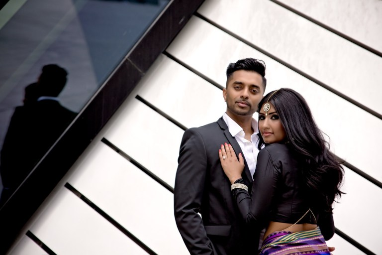 Narmi and Rajeev: Bloor - Yorkville Toronto Tamil Engagement Photographer