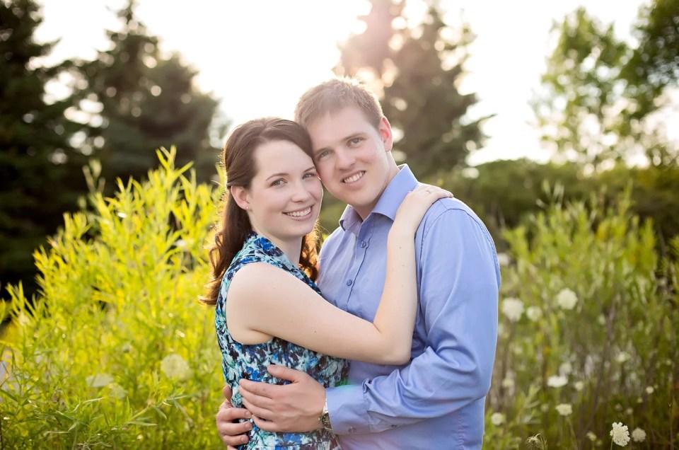 Michelle & John: Colonel Samuel Smith Park Engagement