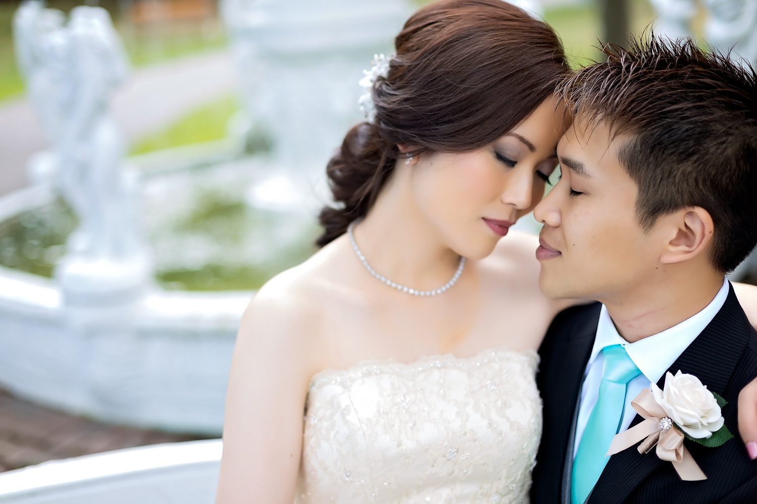 Elaine & Boon-Hau: Columbus Centre Toronto Chinese Wedding Photographer