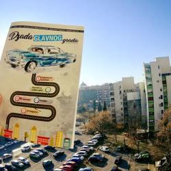 Titogradska tribina, Polis, a danas Džada: Jer Podgorica to zaslužuje