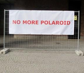No more polaroid