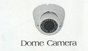 Damitech Kenya white dome camera