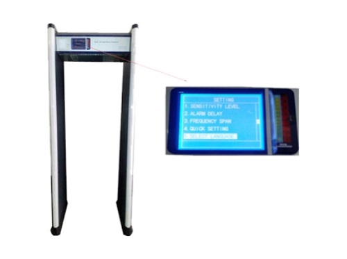 Tec-800A walkthrough metal detector image