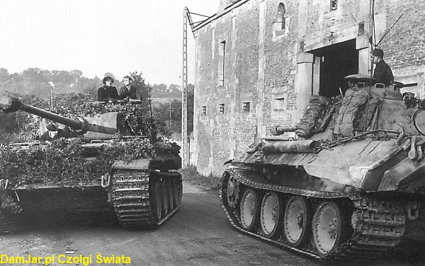 Pzkpfw V Panther w Normandii 1944 rok