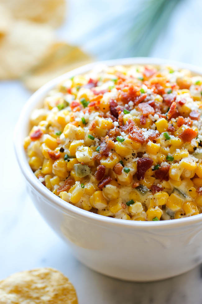 Corn and Jalapeno Dip