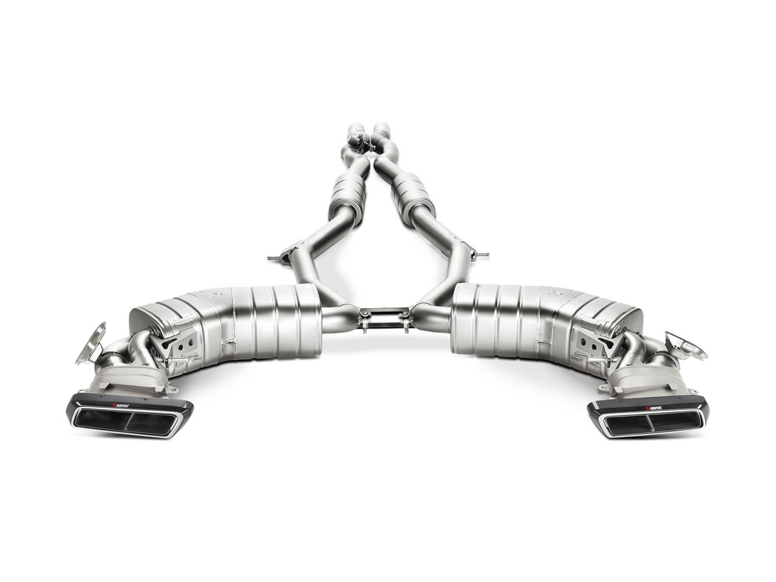 Akrapovic Launched Titanium Exhaust System For Mercedes