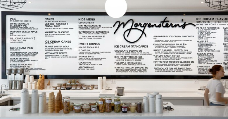 Morgenstern`s Finest Ice Cream