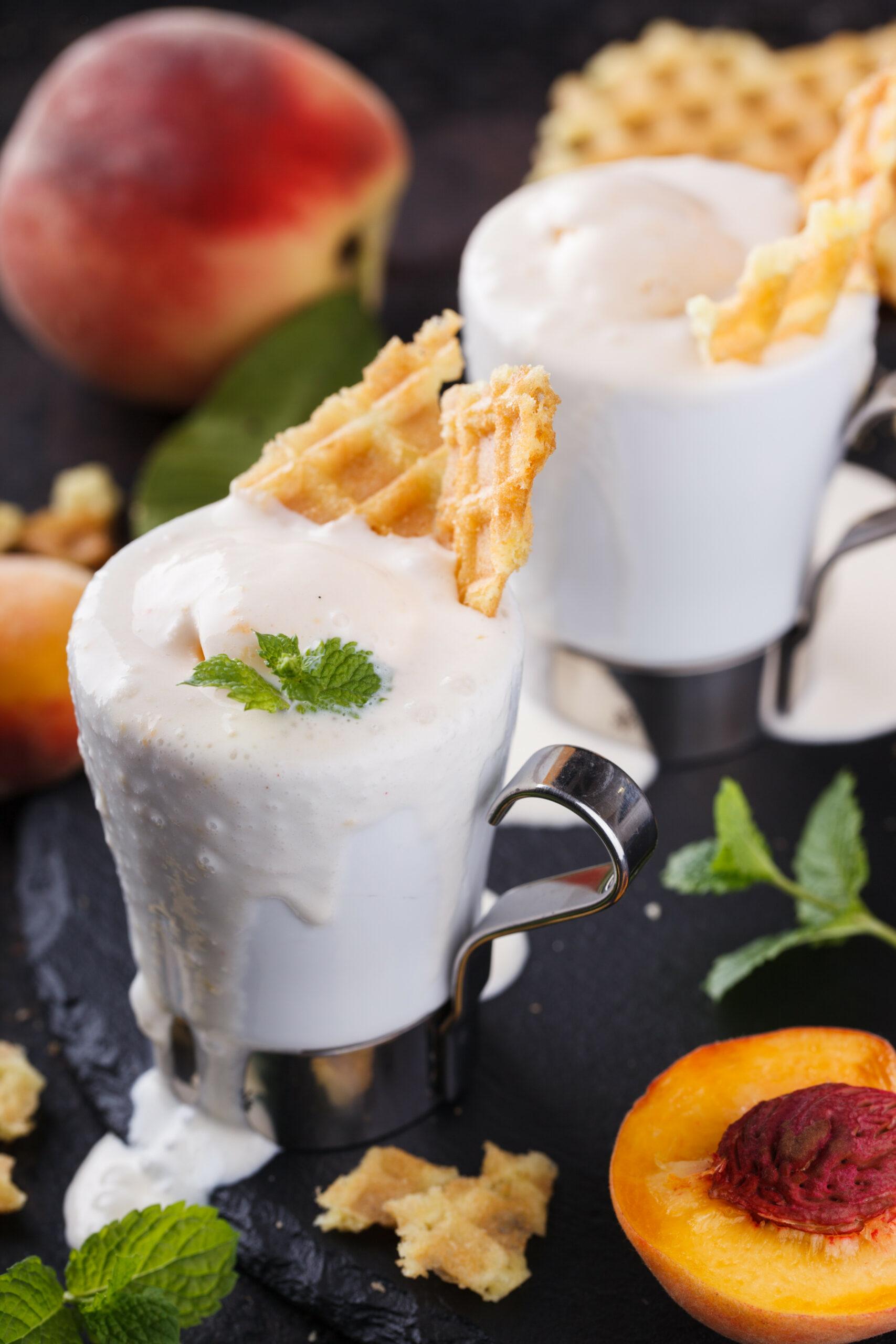 Peach Ice Cream Recipe