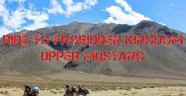 Ride To Upper Mustang