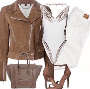 Spring-outfit-ideas-white-jeans-brown-sandals