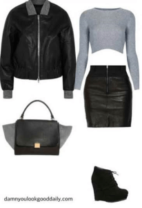 cute-outfit-ideas-bomber-jacket