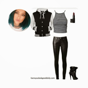 how to dress like kylie jenner 01