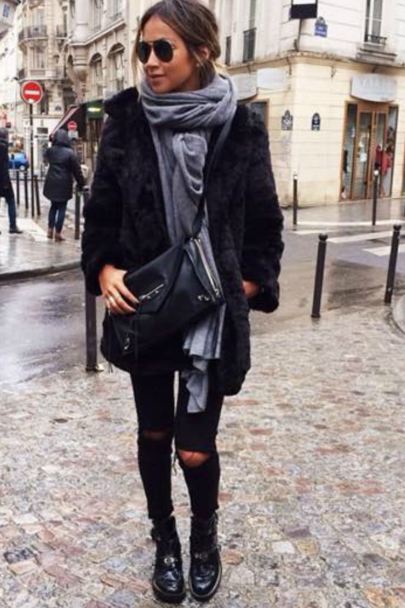 sincerely-jules-fall-outfit-casual-streetstyle-layered-scarfs-combat-boots