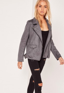 suede-gray-biker-motorcycle-jacket
