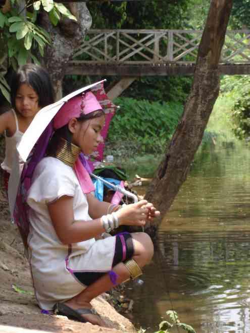 Karen girl in Ban Nai Soi
