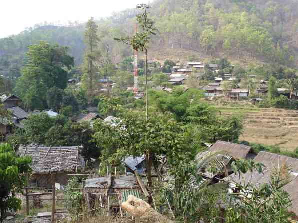 Overlooking Ban Nai Soi