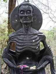 An emaciated Siddhartha