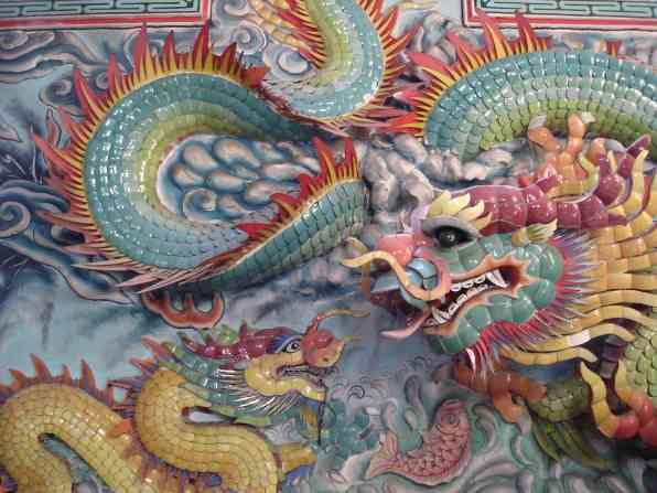 An amazing Chinese Buddhist temple