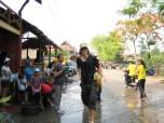 After a thorough soaking during Songkran