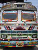 The beastly and colourful Tata trucks
