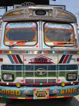 The beastly and colourful Tata trucks