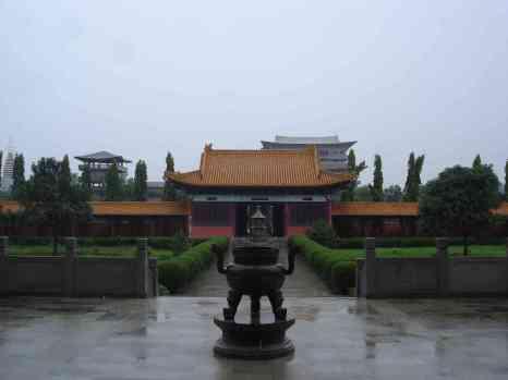 The Chinese Buddhist temple in Lumbini