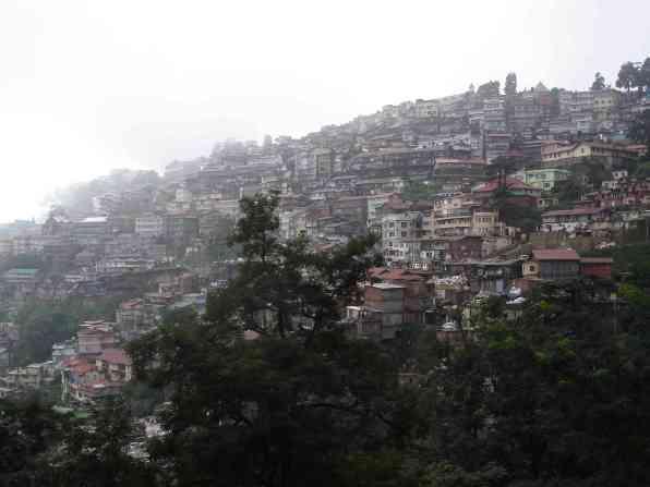 The crazy set up of Shimla