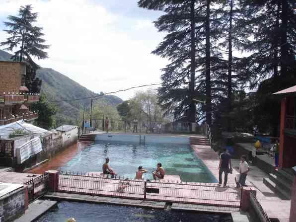 The Bhagsu public pool