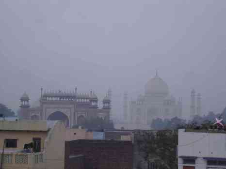 The best free view of the Taj Mahal