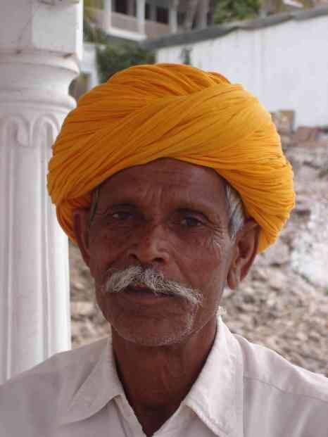 The Rajasthani mo