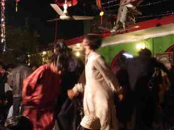 The Sufi dancers get their shake on