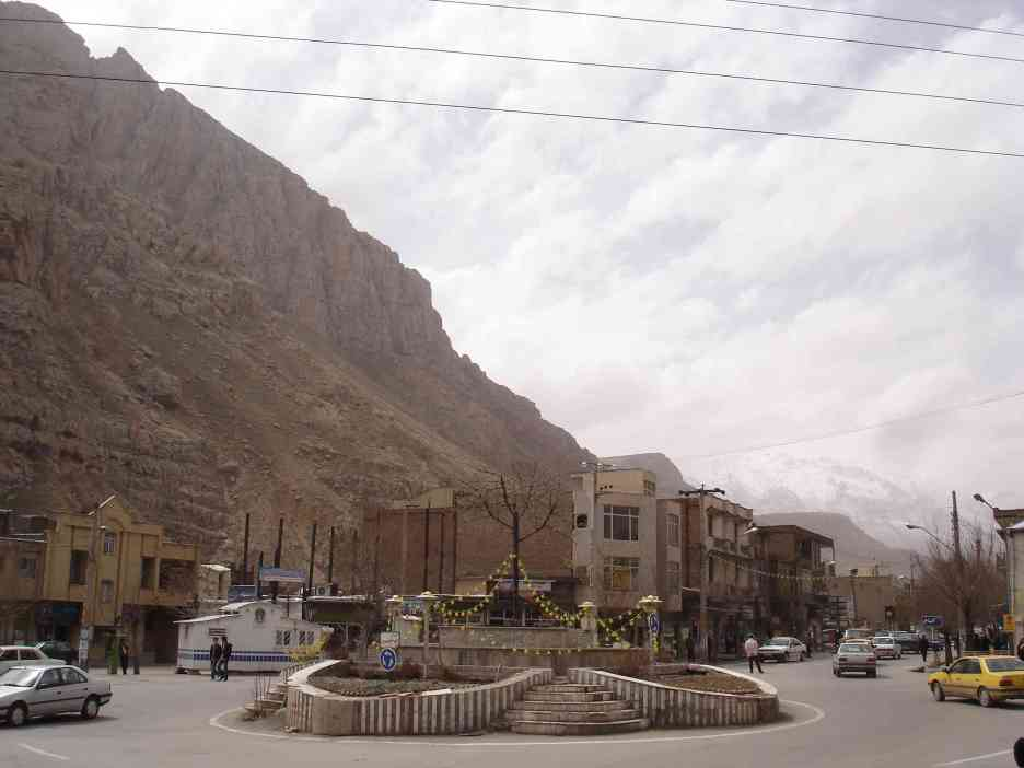 On the road in north-west Iran