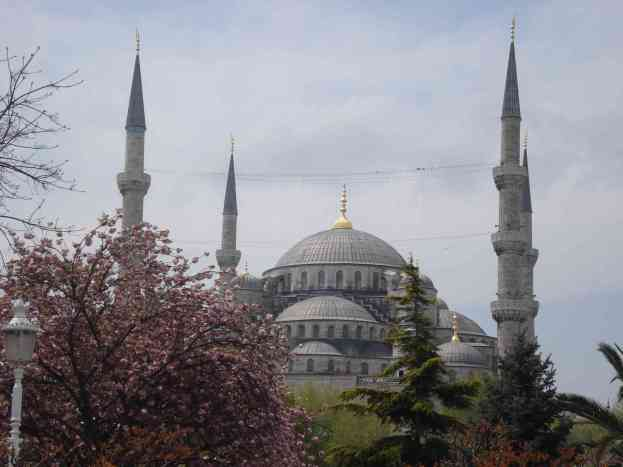 The stunning Blue Mosque