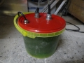 Spindle cooling containter