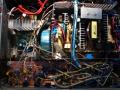 Inside power amplifier