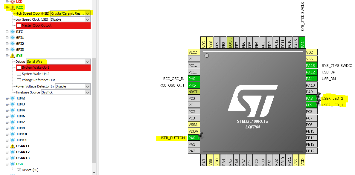 STM32 USB HID Mouse And Keyboard (guide) | Damogran Labs