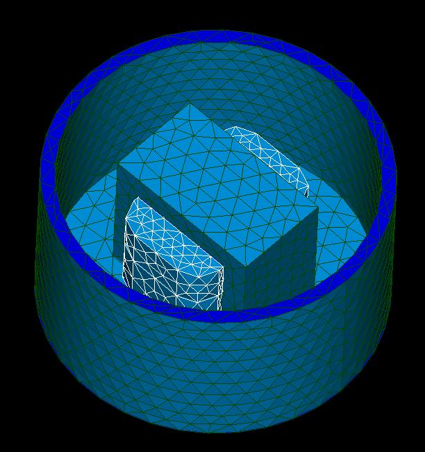 Multiregion STL mesh.