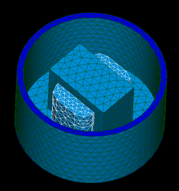 Multiregion STL mesh.